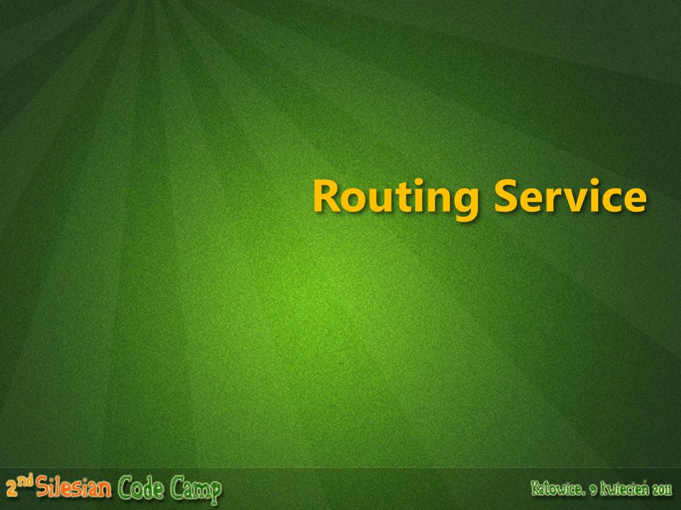 Routing Service