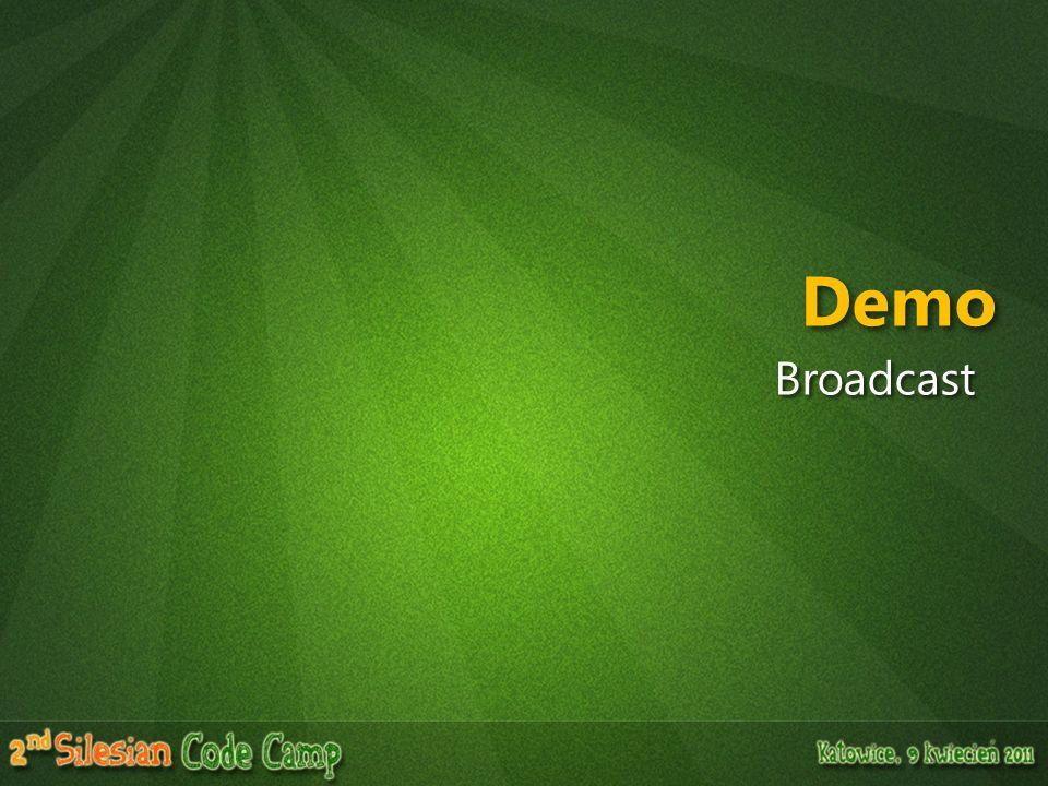 Demo Broadcast