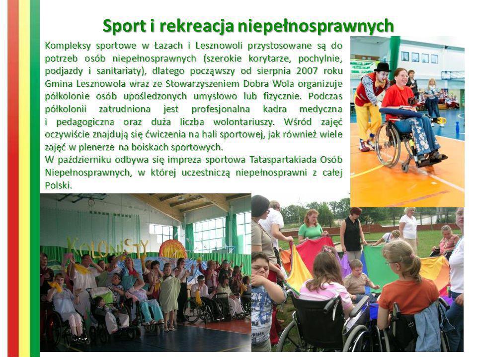 Sport i rekreacja niepełnosprawnych