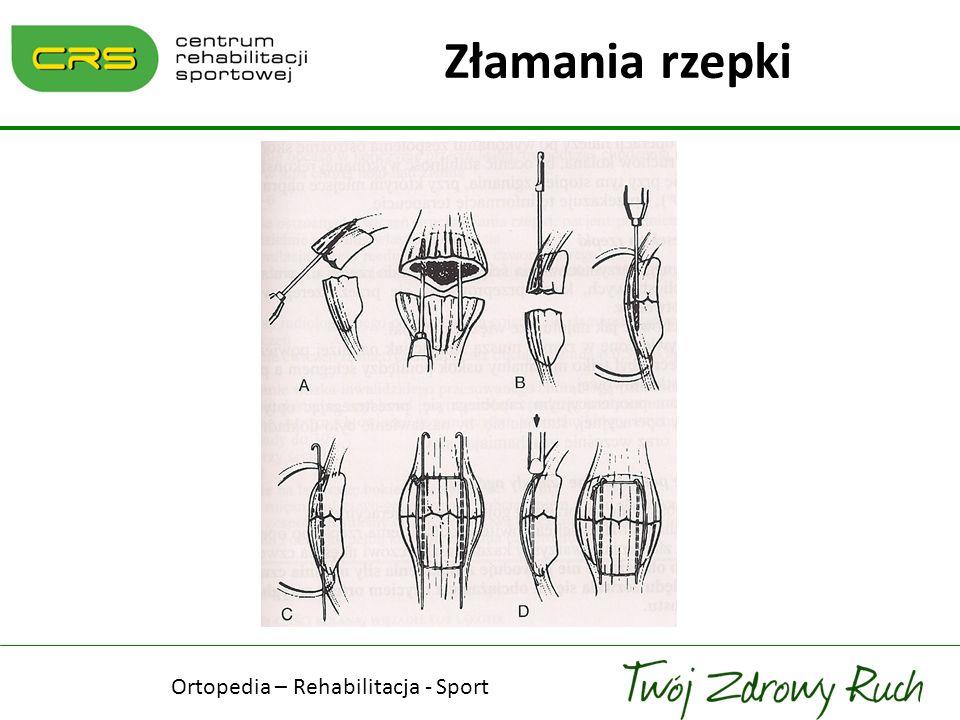 Ortopedia – Rehabilitacja - Sport