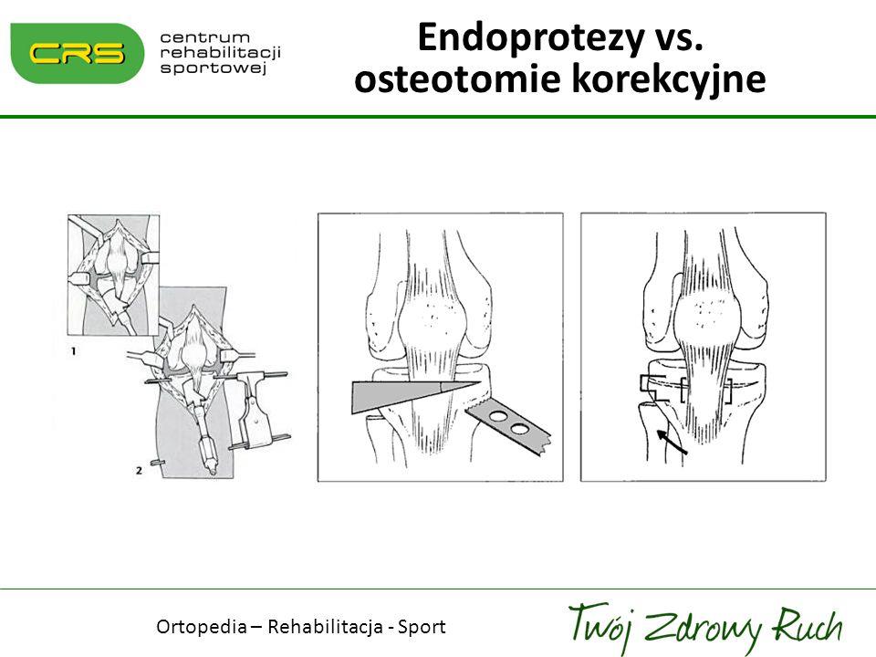 Endoprotezy vs. osteotomie korekcyjne
