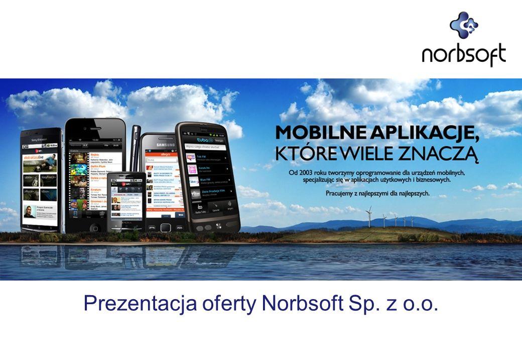 Prezentacja oferty Norbsoft Sp. z o.o.