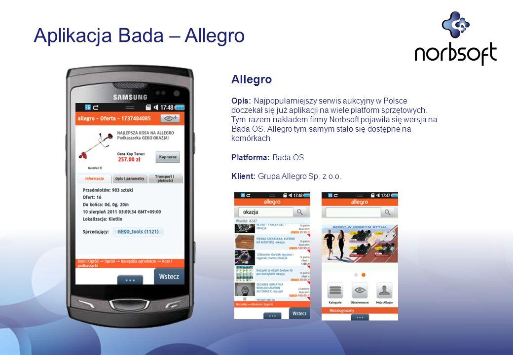 Aplikacja Bada – Allegro