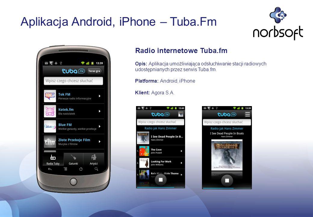 Aplikacja Android, iPhone – Tuba.Fm