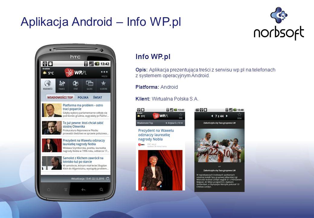 Aplikacja Android – Info WP.pl