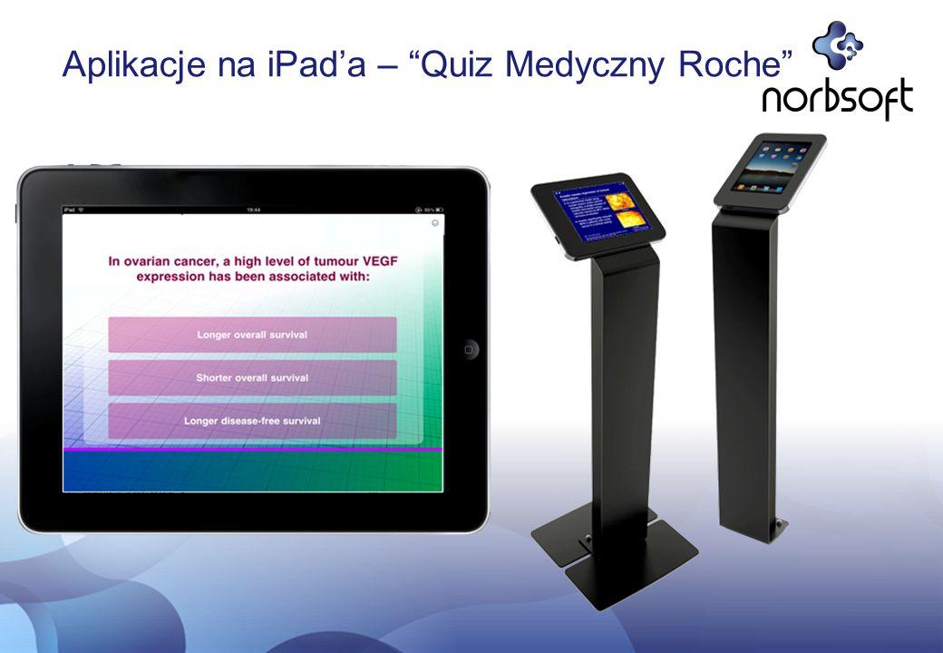Aplikacje na iPad'a – Quiz Medyczny Roche