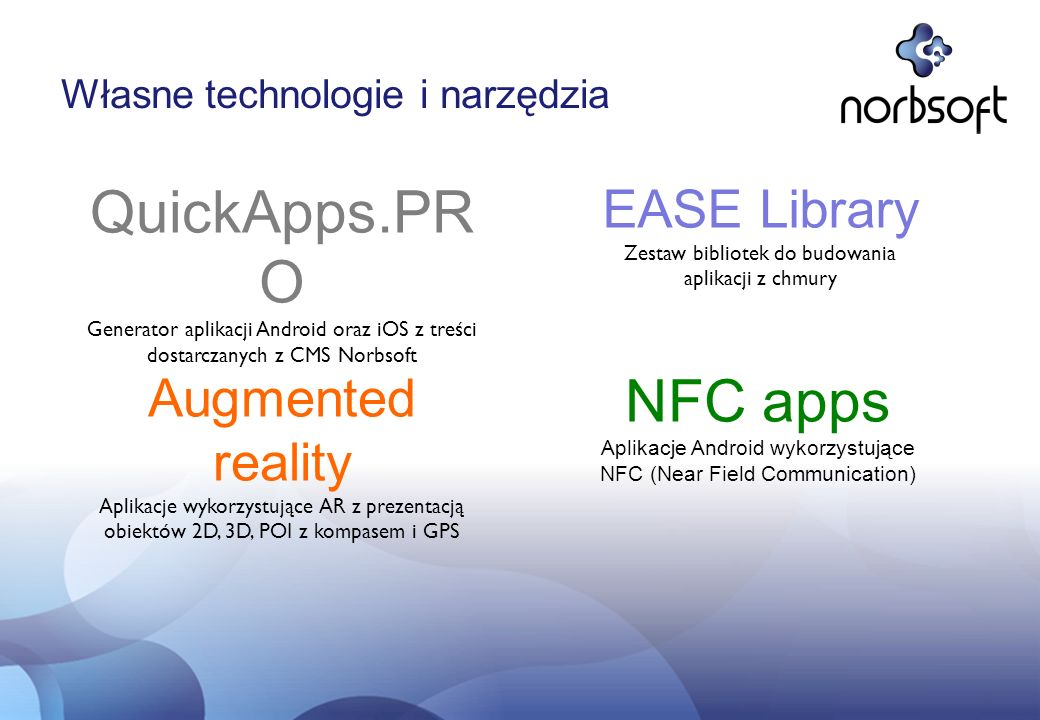 QuickApps.PRO NFC apps EASE Library Augmented reality