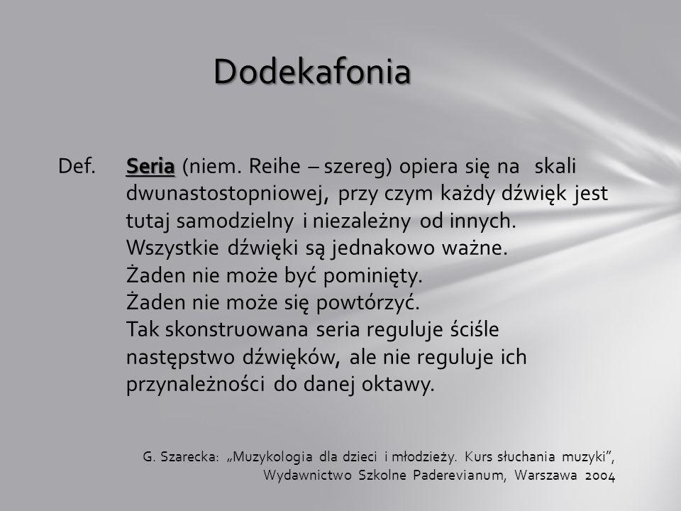 Dodekafonia