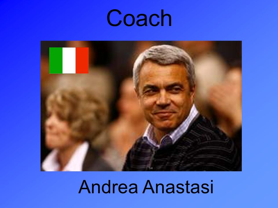 Coach Andrea Anastasi