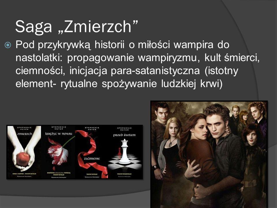 """Saga """"Zmierzch"""