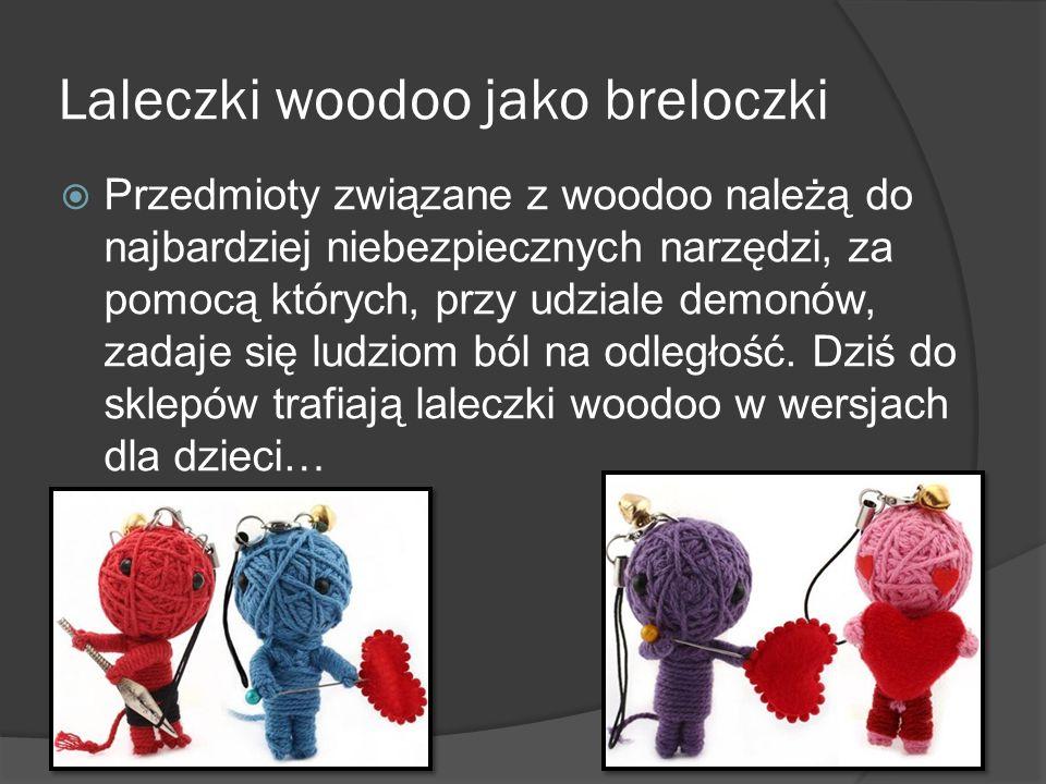Laleczki woodoo jako breloczki