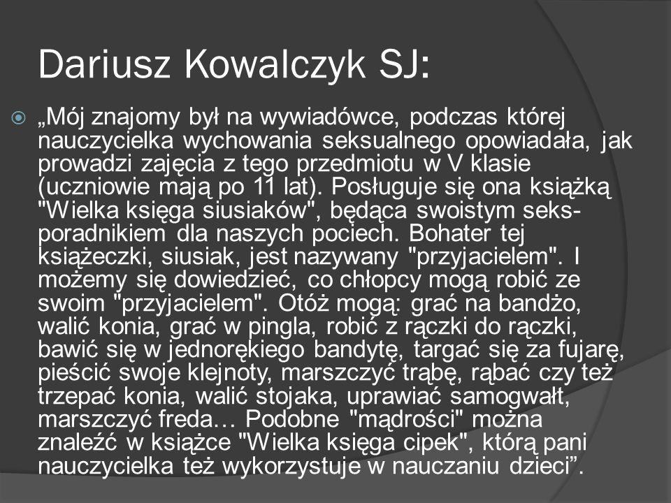 Dariusz Kowalczyk SJ: