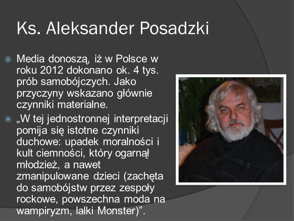 Ks. Aleksander Posadzki