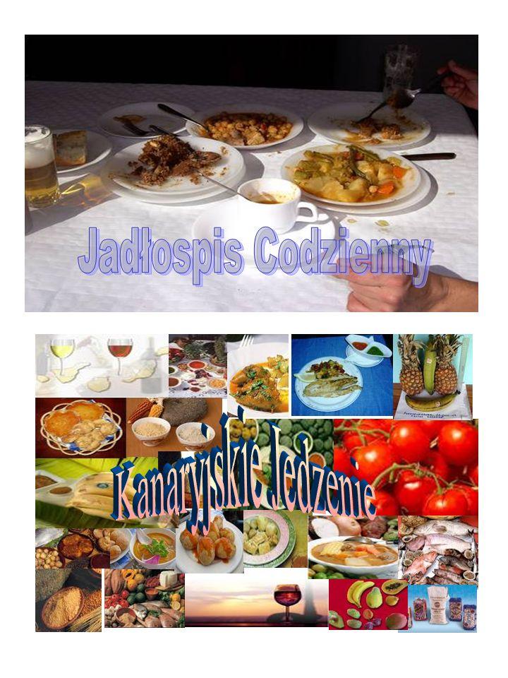 Jadłospis Codzienny Kanaryjskie Jedzenie