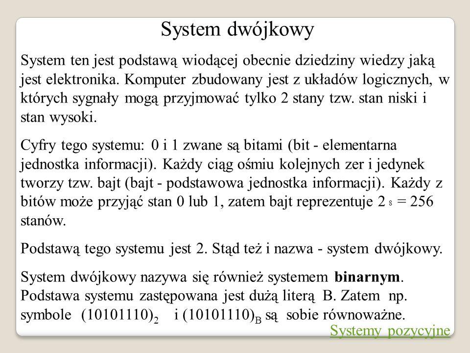 System dwójkowy
