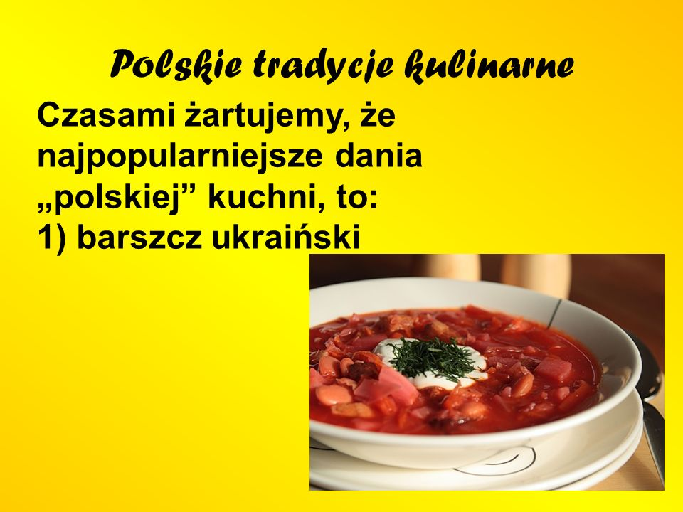 Polskie tradycje kulinarne