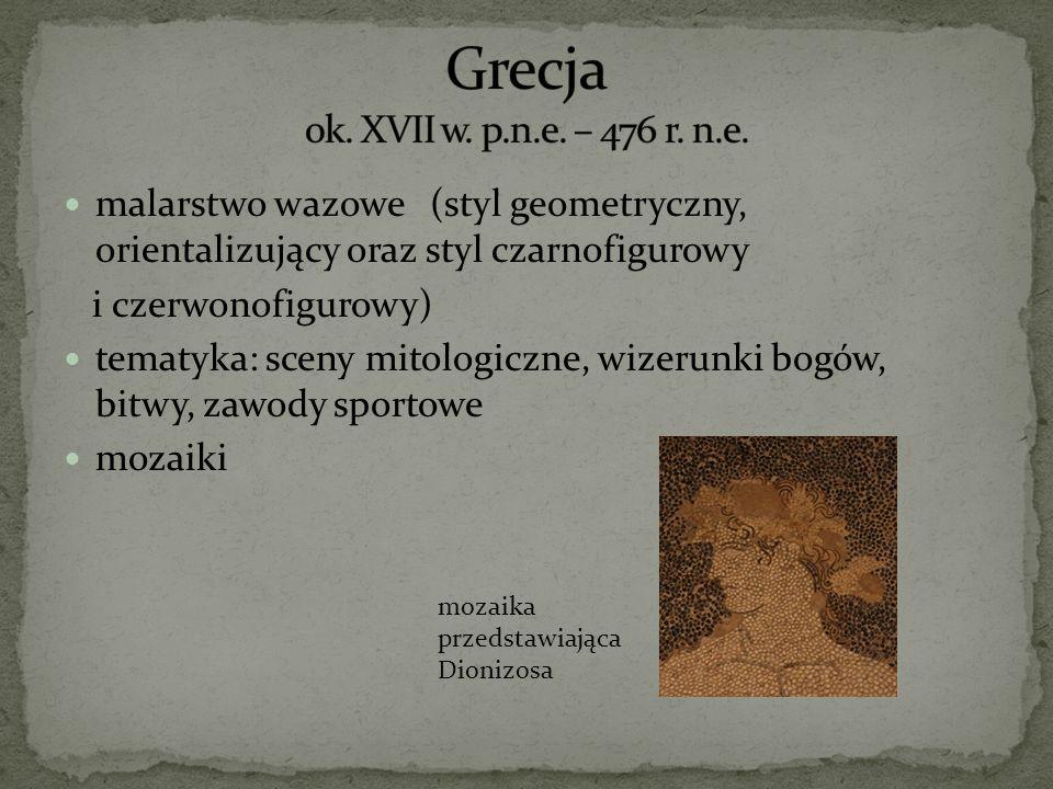 Grecja ok. XVII w. p.n.e. – 476 r. n.e.