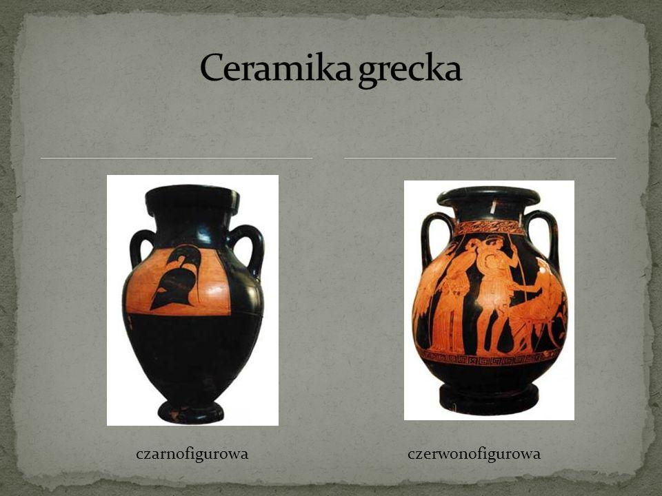 Ceramika grecka czarnofigurowa czerwonofigurowa