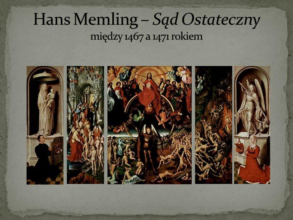 Hans Memling – Sąd Ostateczny między 1467 a 1471 rokiem