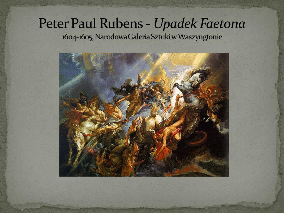 Peter Paul Rubens - Upadek Faetona 1604-1605, Narodowa Galeria Sztuki w Waszyngtonie