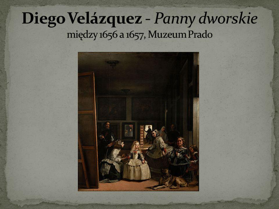 Diego Velázquez - Panny dworskie między 1656 a 1657, Muzeum Prado