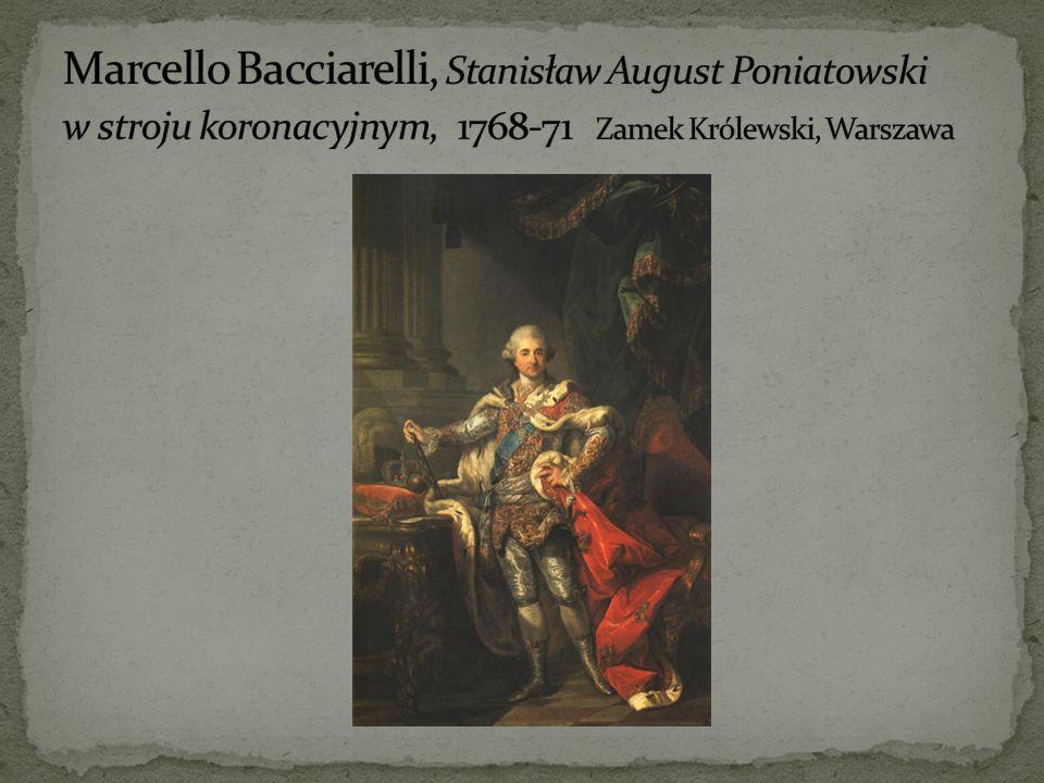 Marcello Bacciarelli, Stanisław August Poniatowski w stroju koronacyjnym, 1768-71 Zamek Królewski, Warszawa