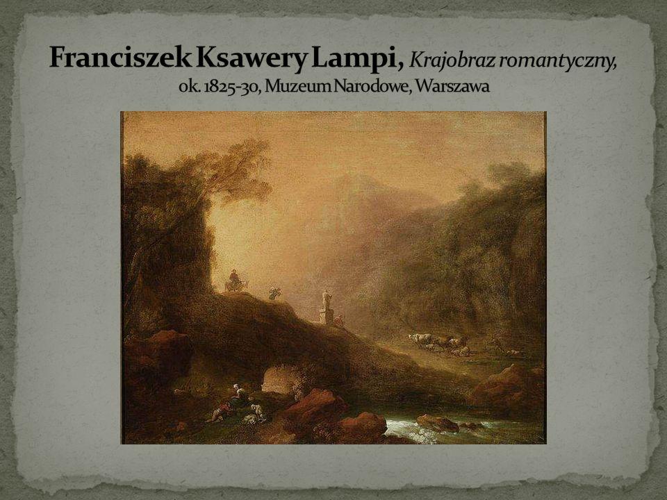Franciszek Ksawery Lampi, Krajobraz romantyczny, ok