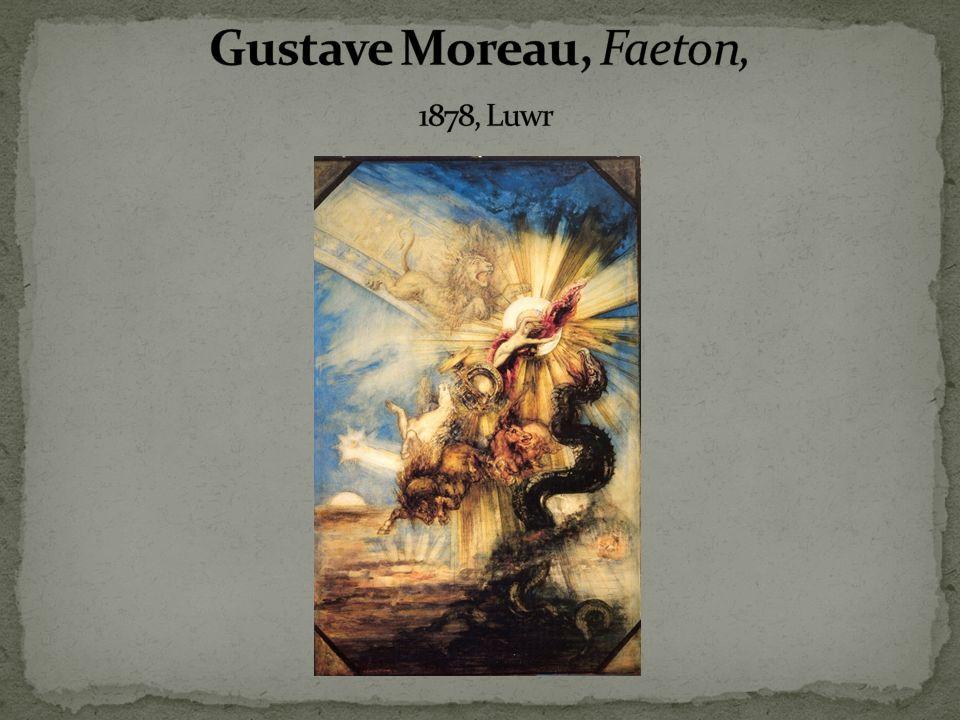Gustave Moreau, Faeton, 1878, Luwr