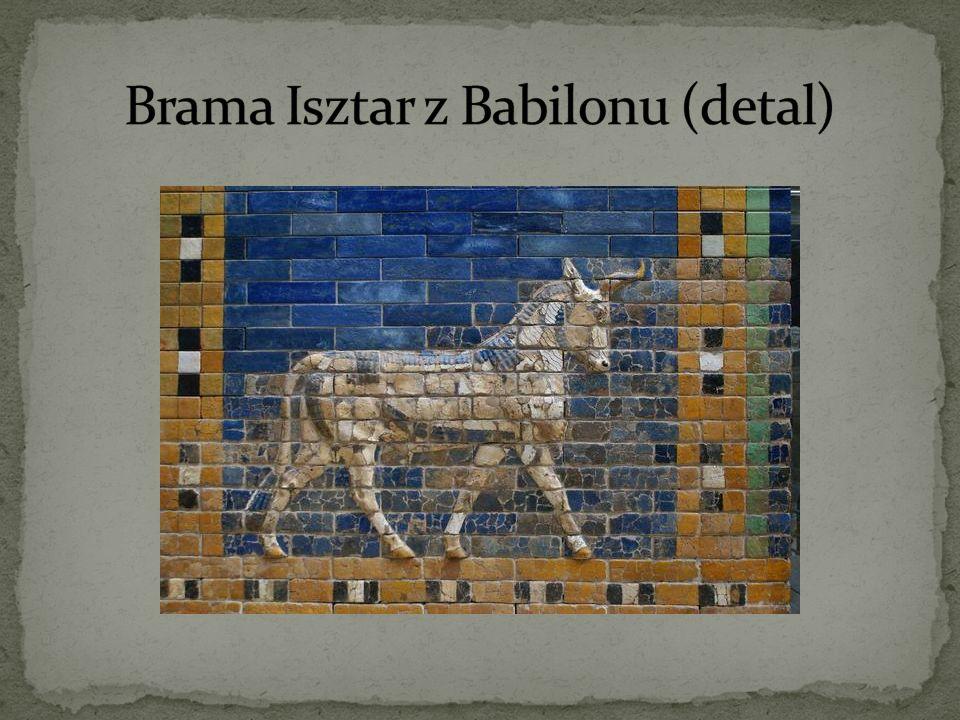 Brama Isztar z Babilonu (detal)
