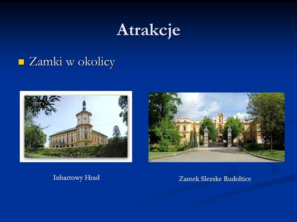 Atrakcje Zamki w okolicy Inhartowy Hrad Zamek Slezske Rudoltice