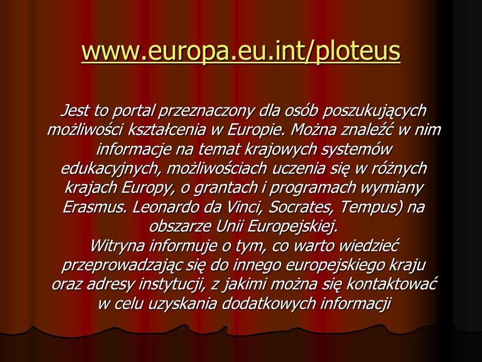 www.europa.eu.int/ploteus