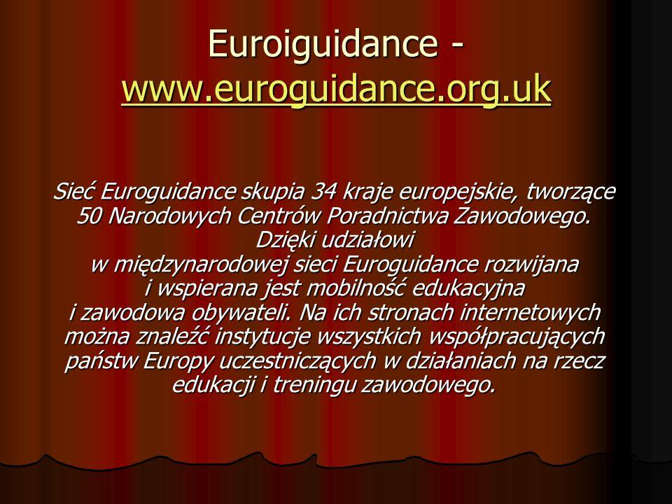 Euroiguidance - www.euroguidance.org.uk