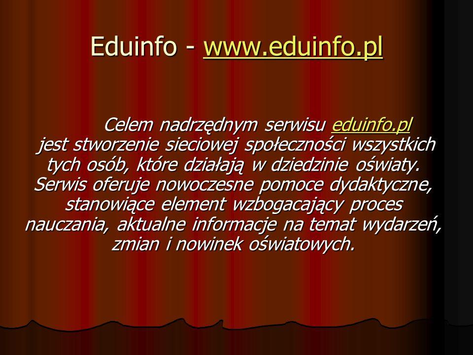 Eduinfo - www.eduinfo.pl