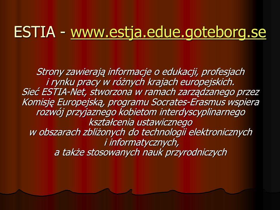 ESTIA - www.estja.edue.goteborg.se