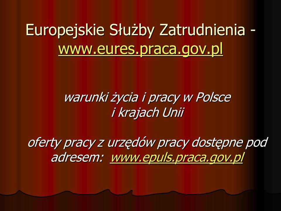 Europejskie Służby Zatrudnienia - www.eures.praca.gov.pl