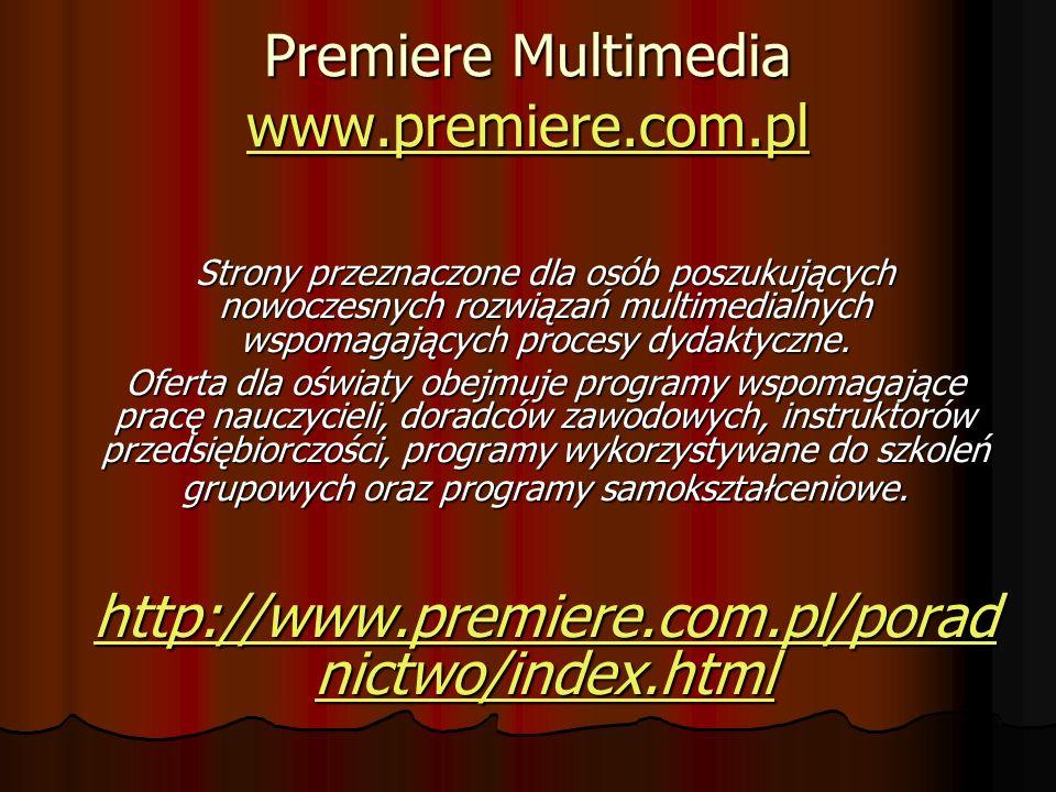 Premiere Multimedia www.premiere.com.pl