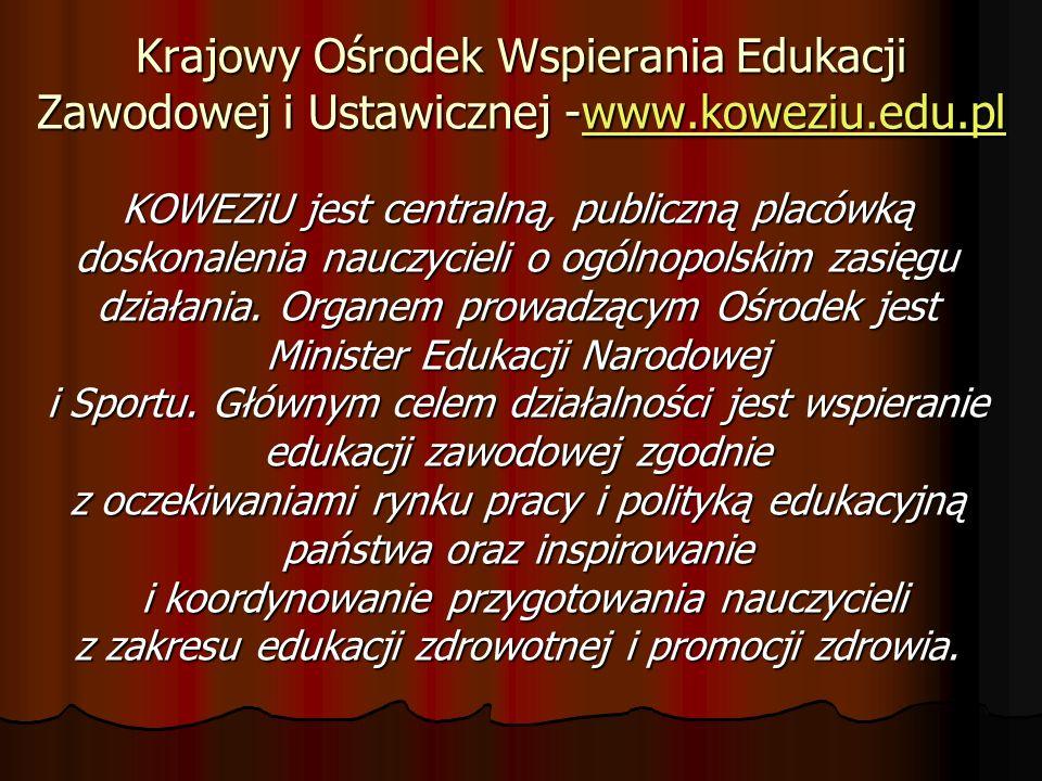 Krajowy Ośrodek Wspierania Edukacji Zawodowej i Ustawicznej -www