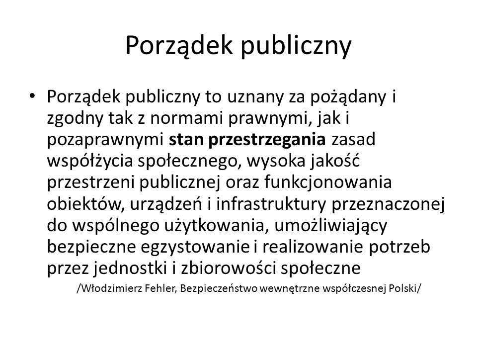 Porządek publiczny