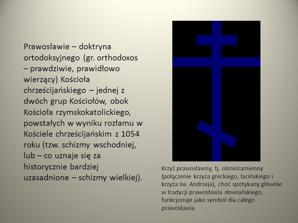 Prawosławie – doktryna ortodoksyjnego (gr