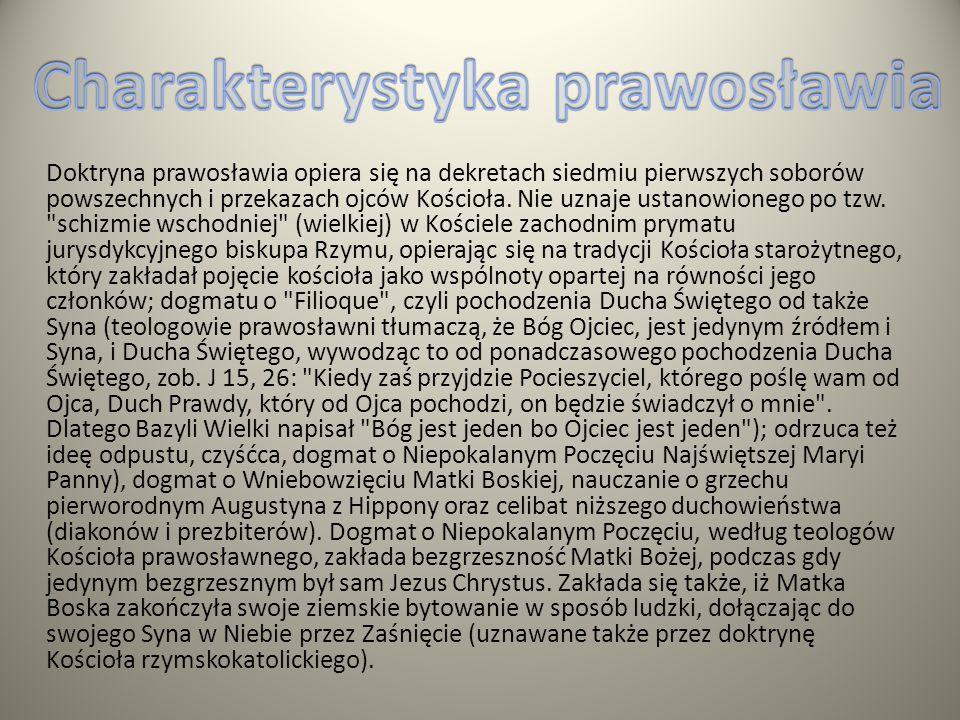 Charakterystyka prawosławia