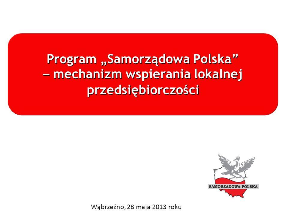"""Program """"Samorządowa Polska – mechanizm wspierania lokalnej"""