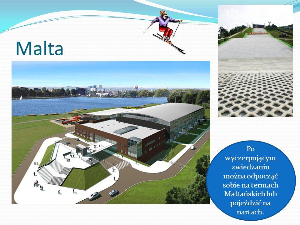 MaltaPo wyczerpującym zwiedzaniu można odpocząć sobie na termach Maltańskich lub pojeździć na nartach.