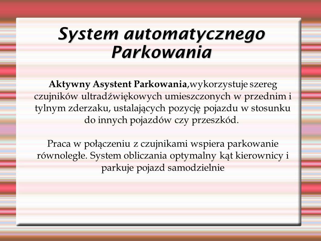 System automatycznego Parkowania