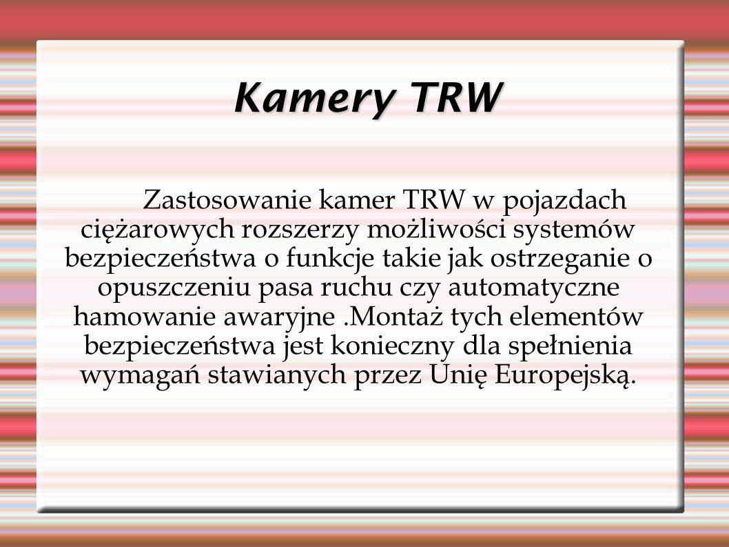 Kamery TRW
