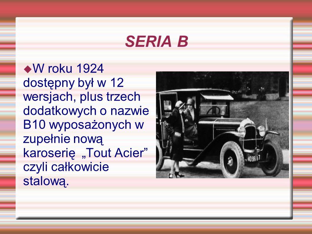 SERIA B