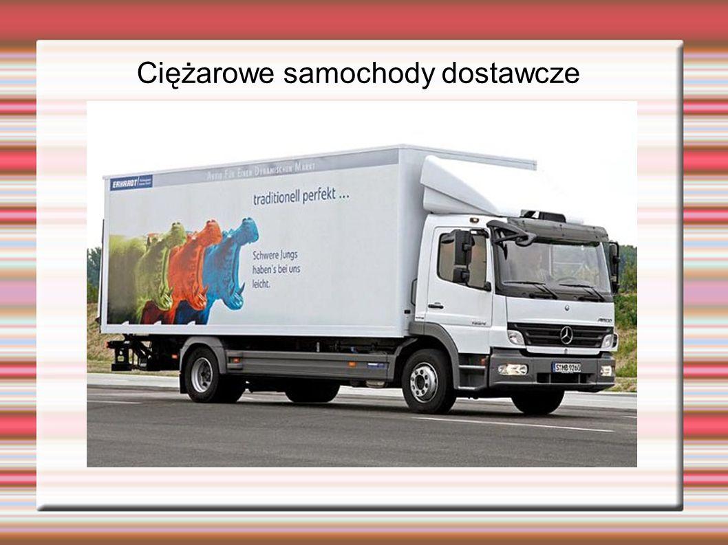 Ciężarowe samochody dostawcze