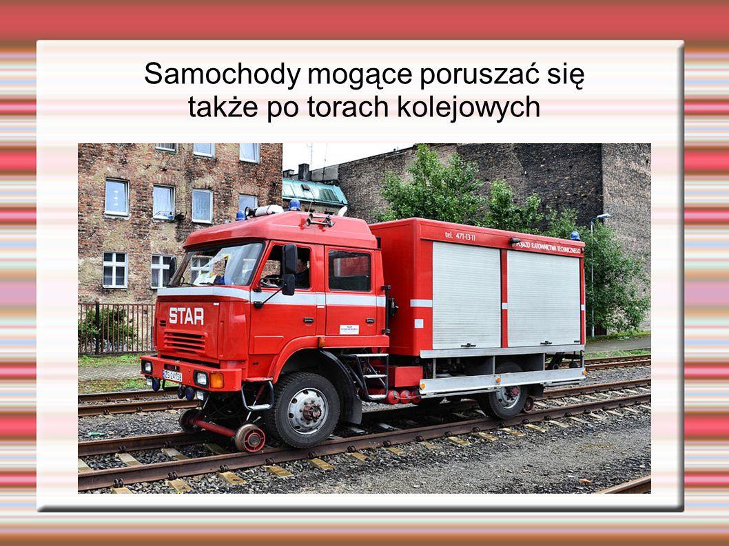 Samochody mogące poruszać się także po torach kolejowych