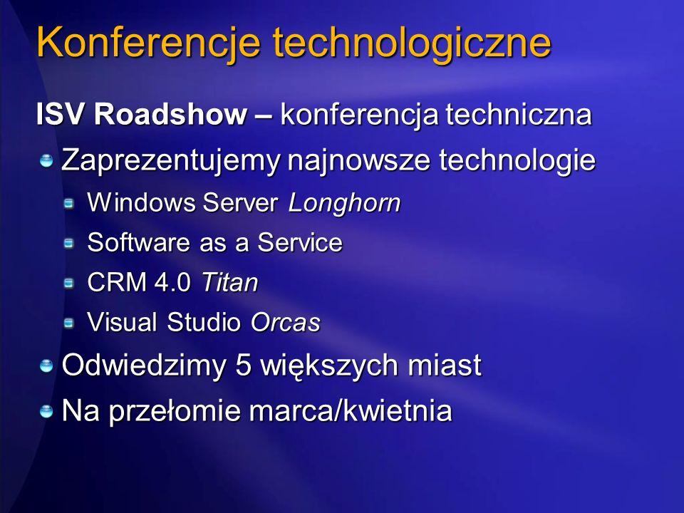 Konferencje technologiczne
