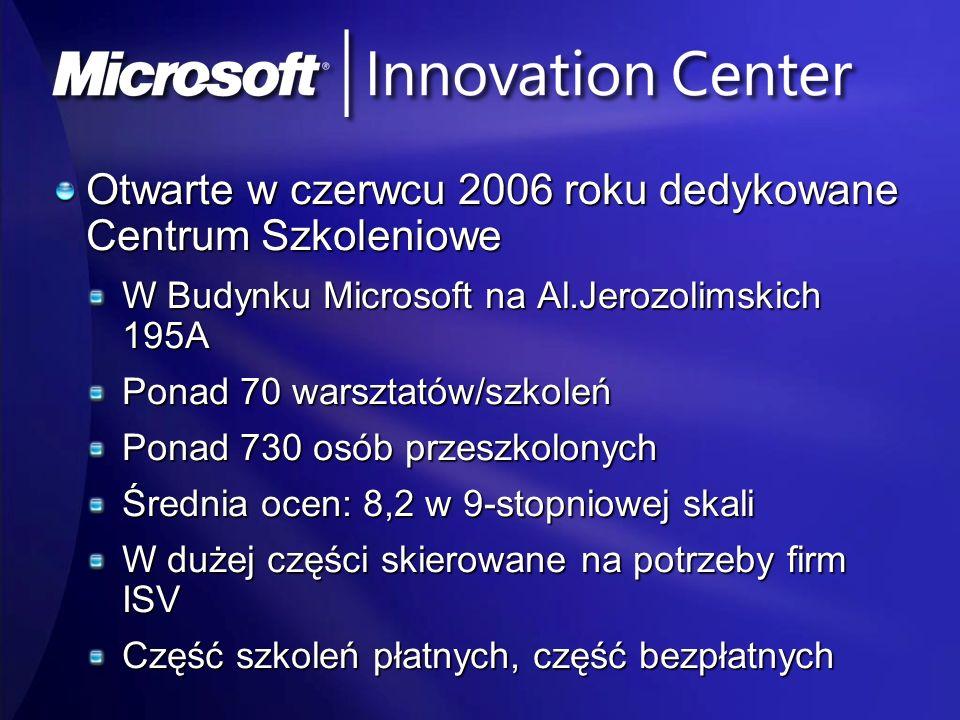 Otwarte w czerwcu 2006 roku dedykowane Centrum Szkoleniowe