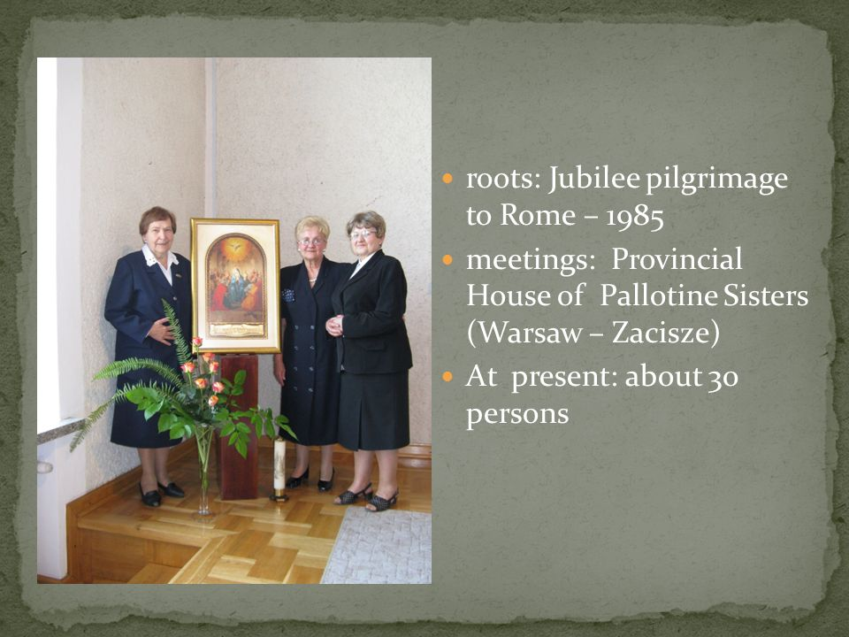 roots: Jubilee pilgrimage to Rome – 1985